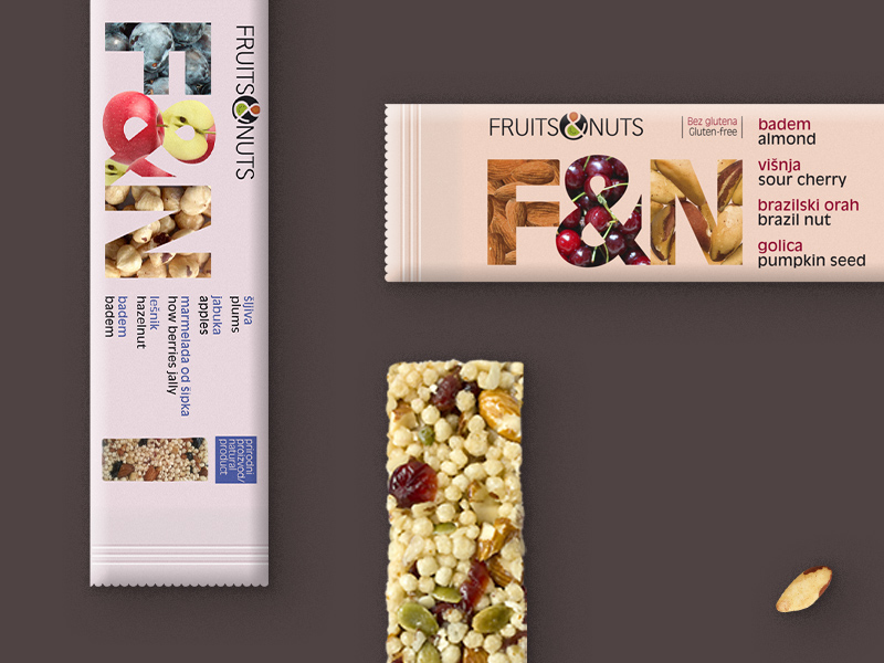 Fruits and Nuts design